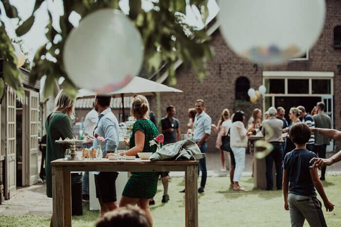 Feest locatie Soest sfeervol rust wijnboerderij